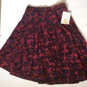Lularoe Madison Skirt NWT Floral XSmall